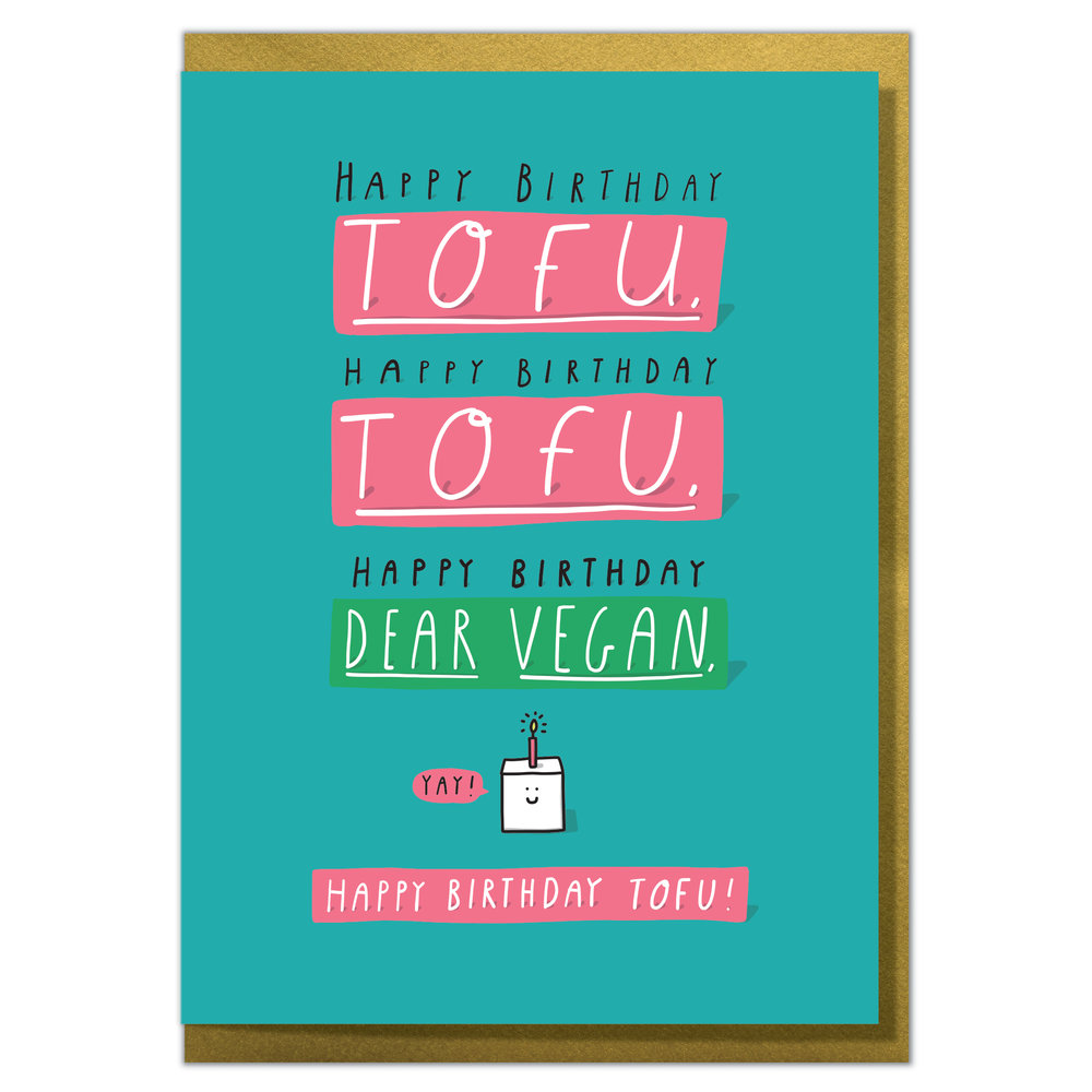 Yi106 Happy Birthday Dear Vegan