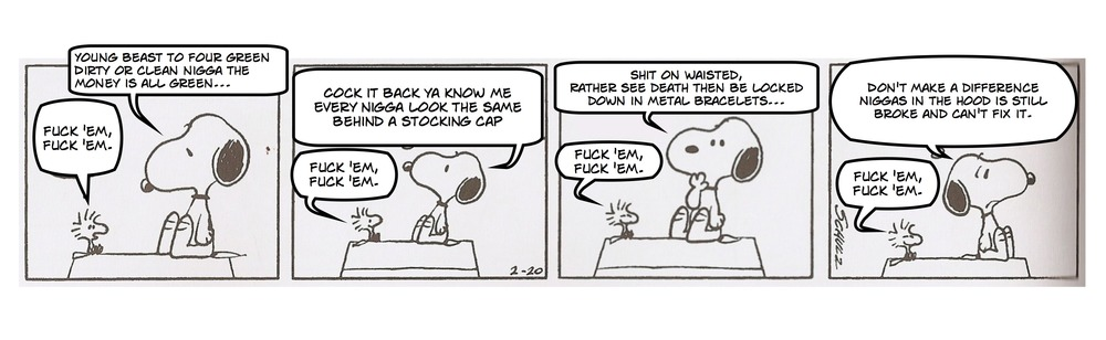 SNOOPY vs. SNOOP DOGG
