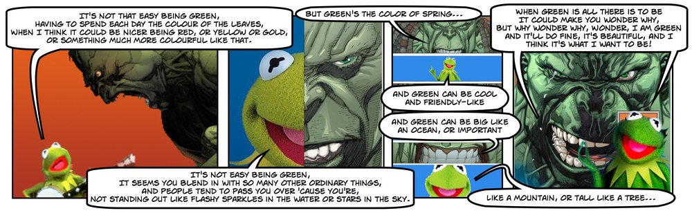 KERMIT THE FROG vs. THE HULK