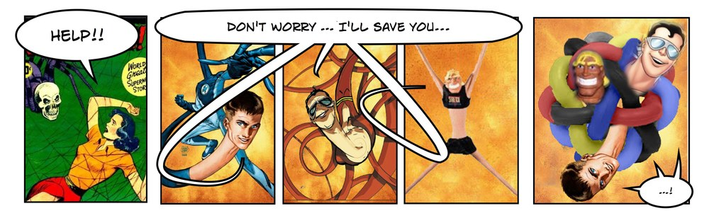 MR. FANTASTIC vs. PLASTIC MAN vs. STRETCH ARMSTRONG