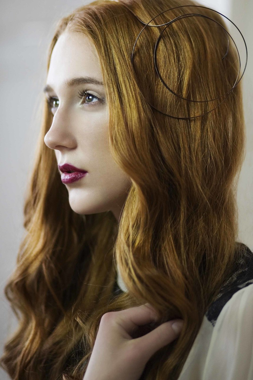 Copper Hair Jewellery