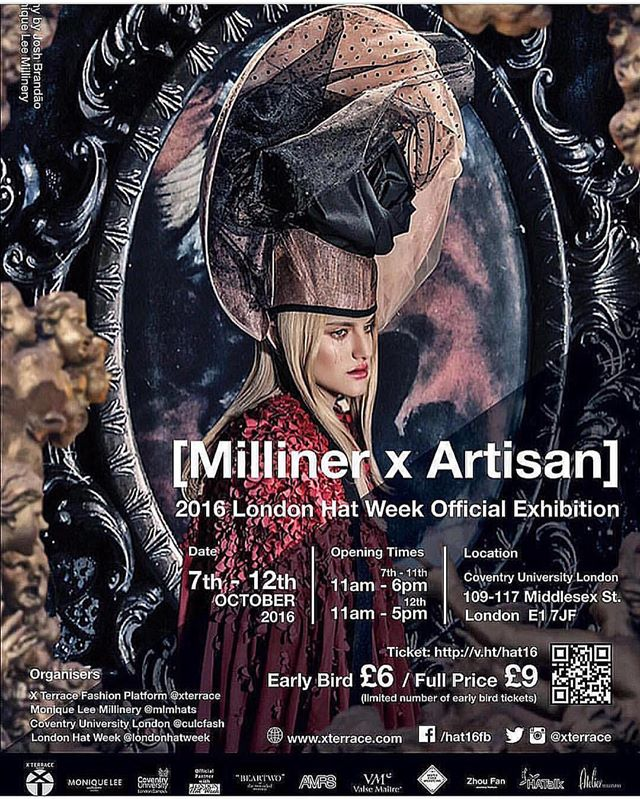 Official Milliner x Arisan poster 2016