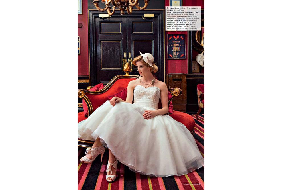 Best Scottish Weddings Magazine Editorial