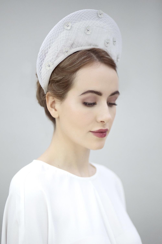 White Bridal Halo