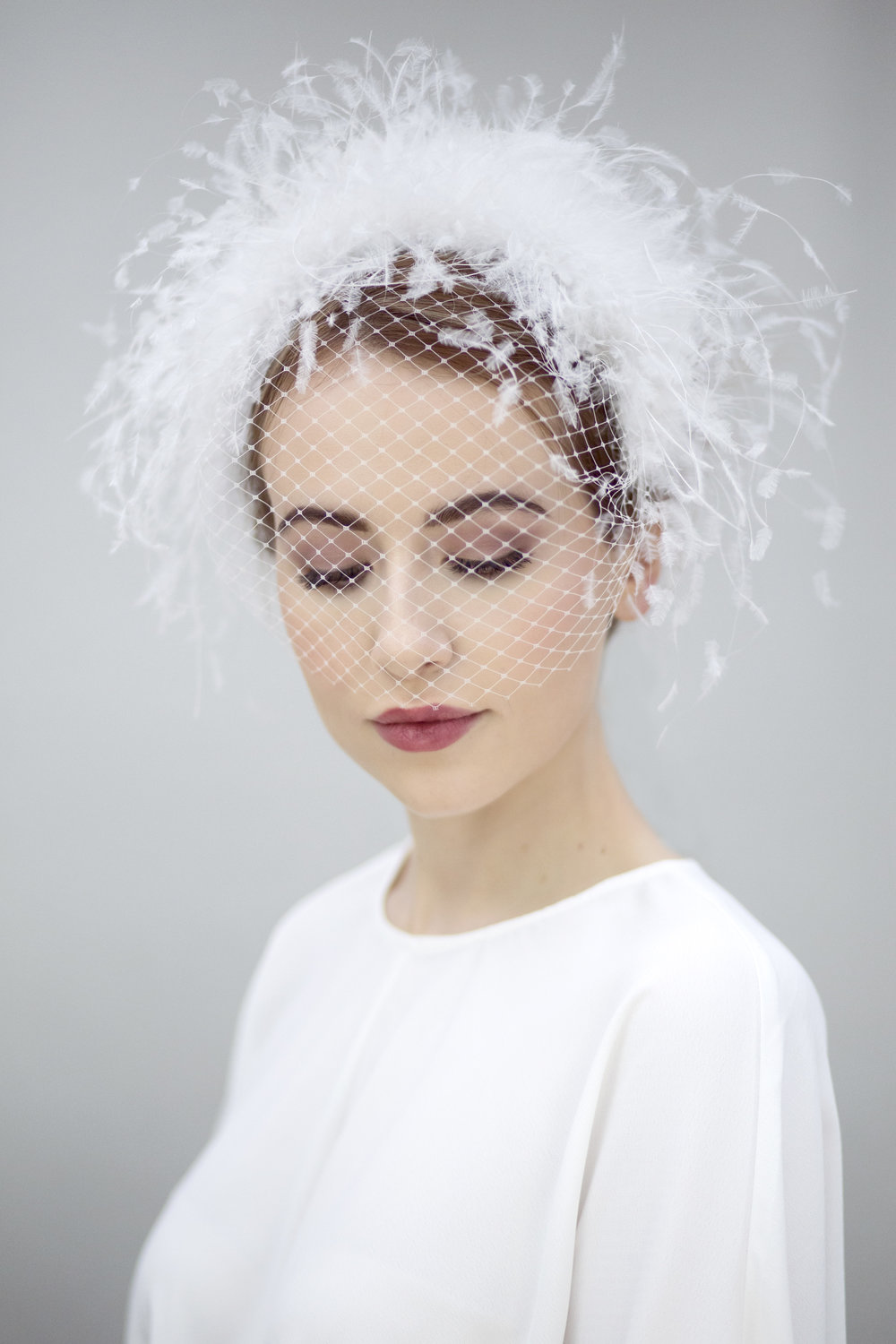 Feather Halo Crown