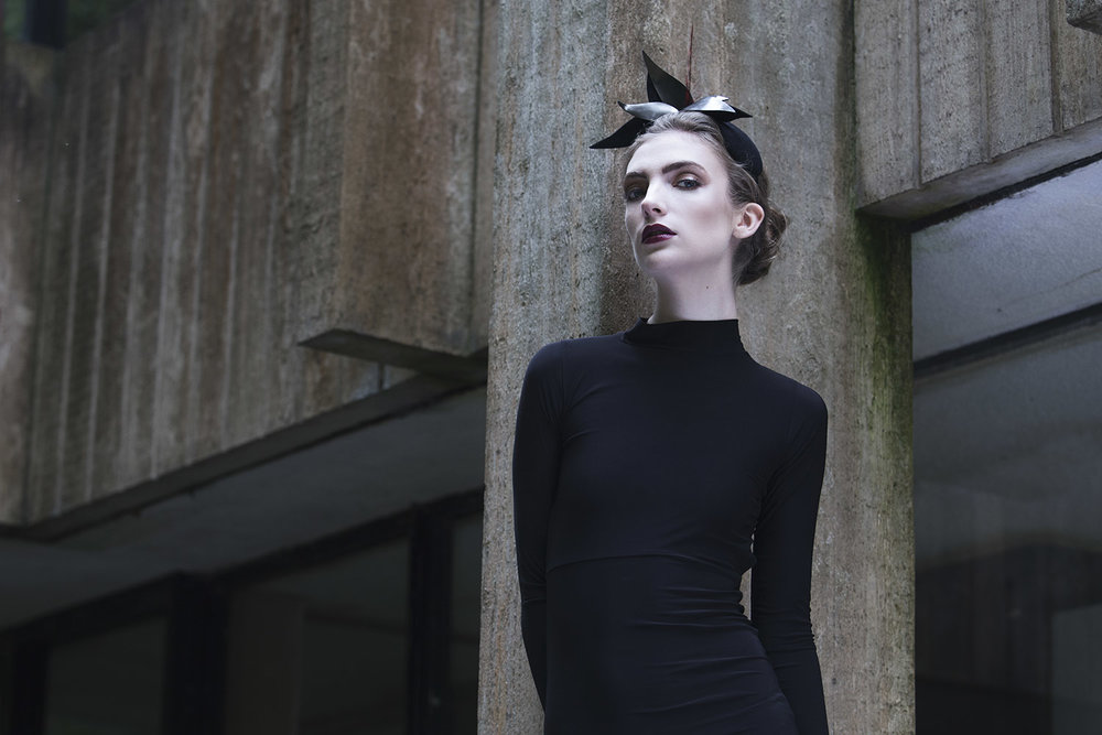 photo shoot for Maggie Mowbray Millinery