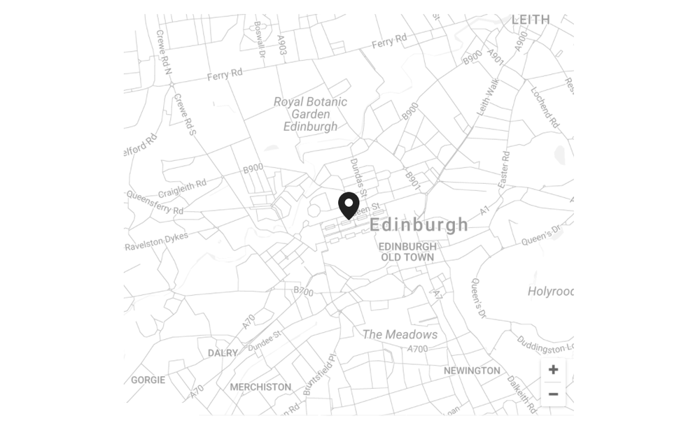 Visit our showroom - located in central edinburgh