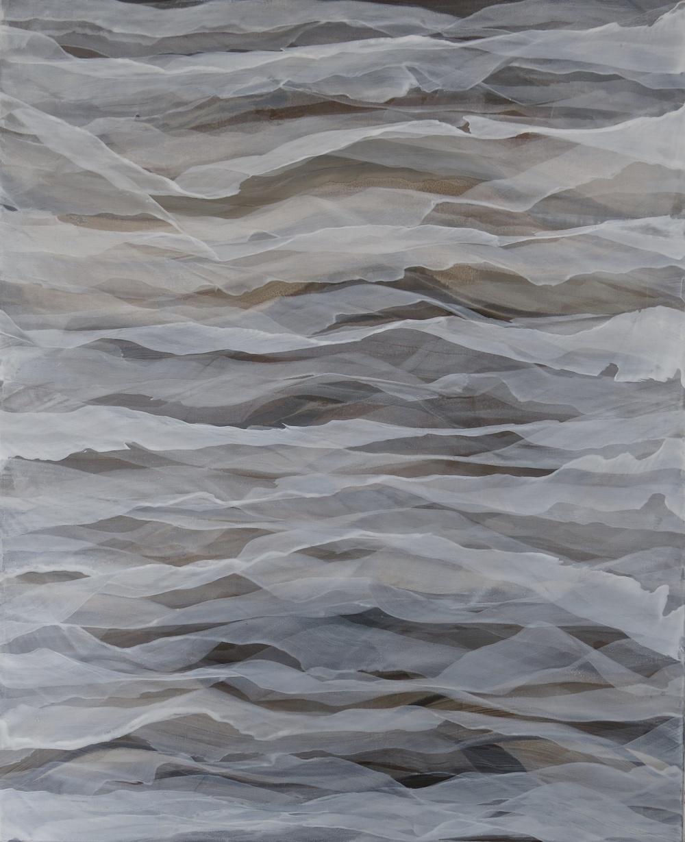 """paseo de otoño"" 100 x 80 cm. acrílico en lienzo."