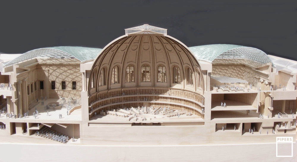 BRITISH MUSEUM - FOSTER & PARTNERS - 1:100 SCALE