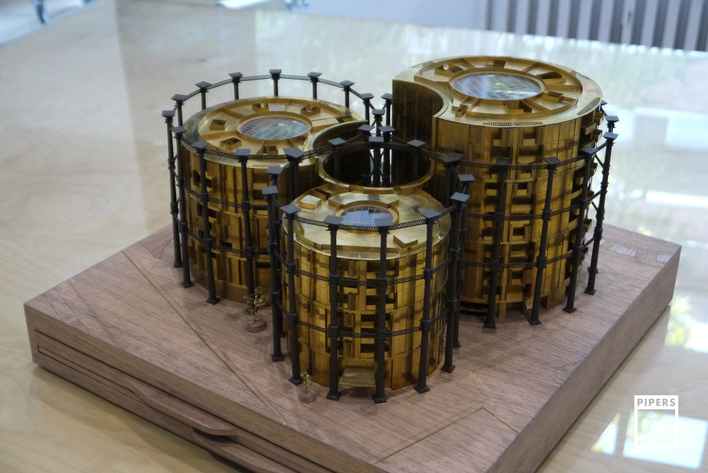 GASHOLDERS KING'S CROSS ARCHITECTURE MODEL