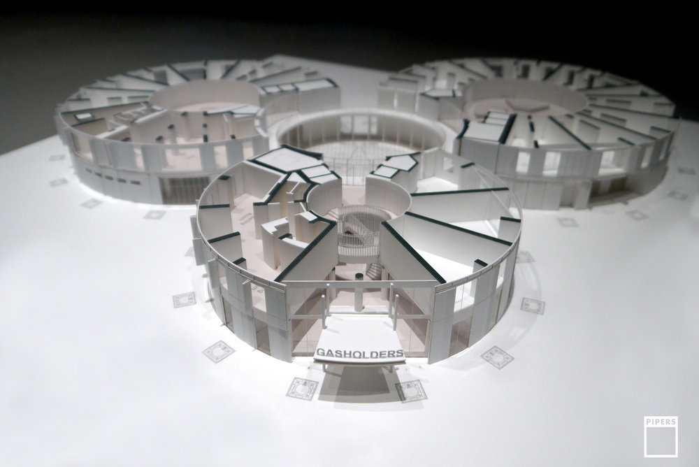 GASHOLDERS ARCHITECTURE MODEL