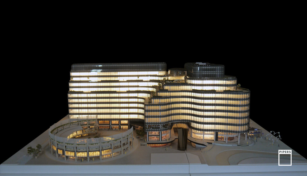 100 LIVERPOOL STREET 1:125 SCALE