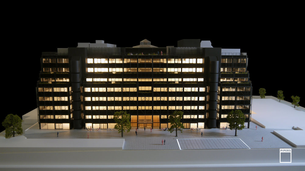 1 FINSBURY AVENUE 1:125 SCALE