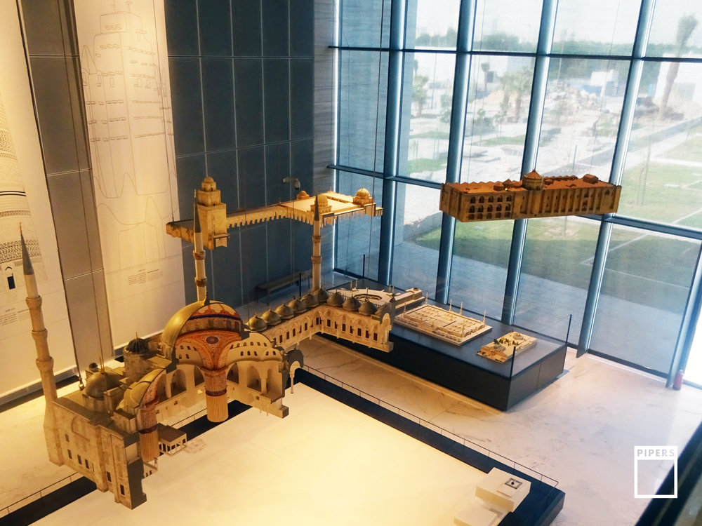 mosques architectural models