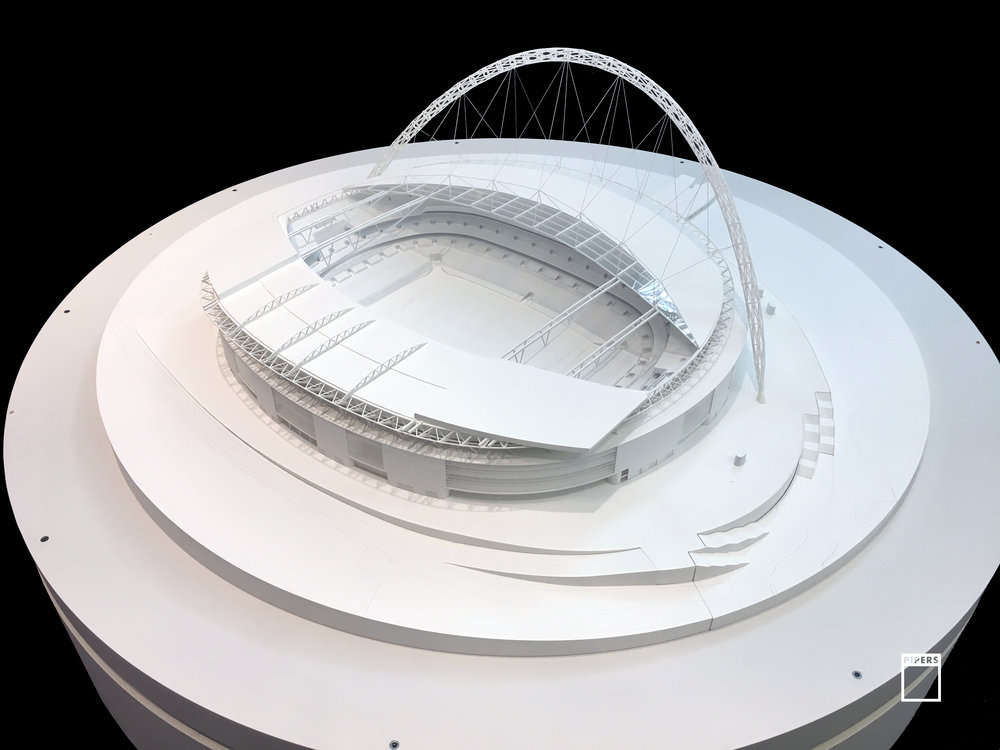 wembley stadium model