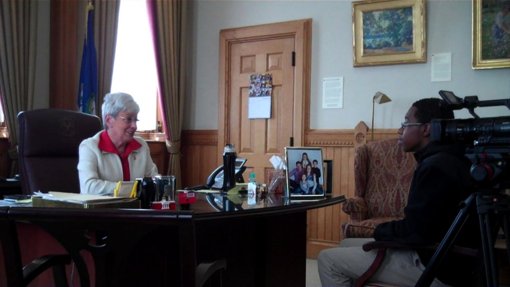 Shamar Mahon interviews the Lt. Governor.