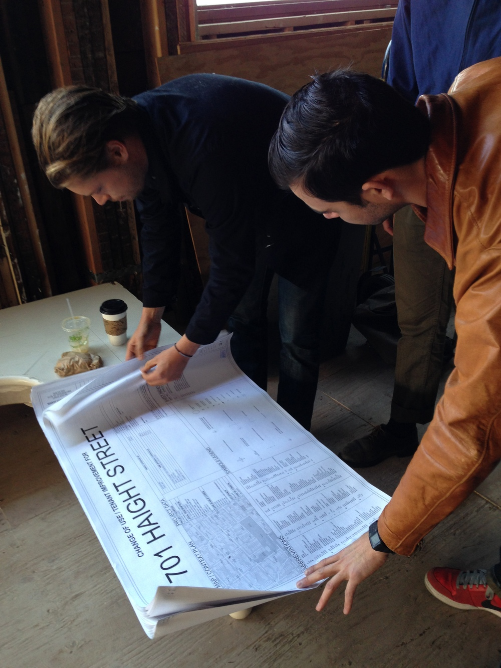 Robert and Cole dive into the new architecture plans for Black Sands at 701 Haight.