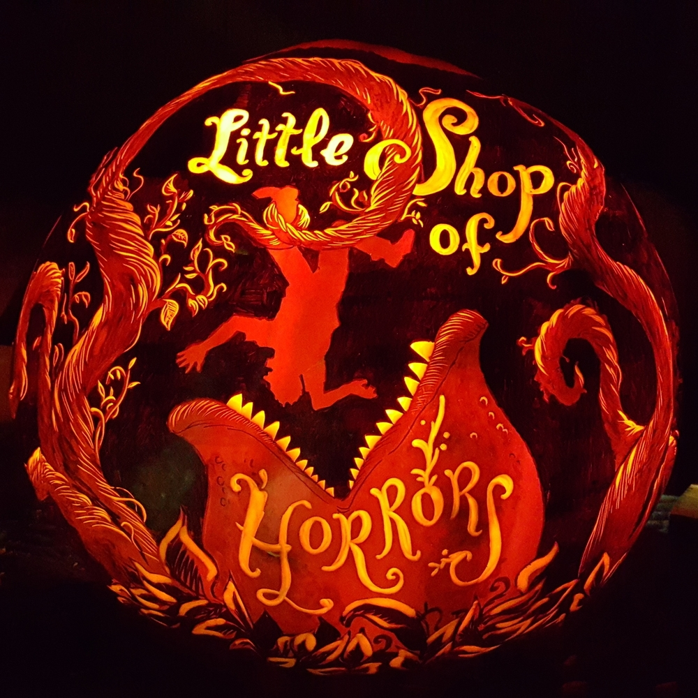 Little Shop of Horrors Pumpkin