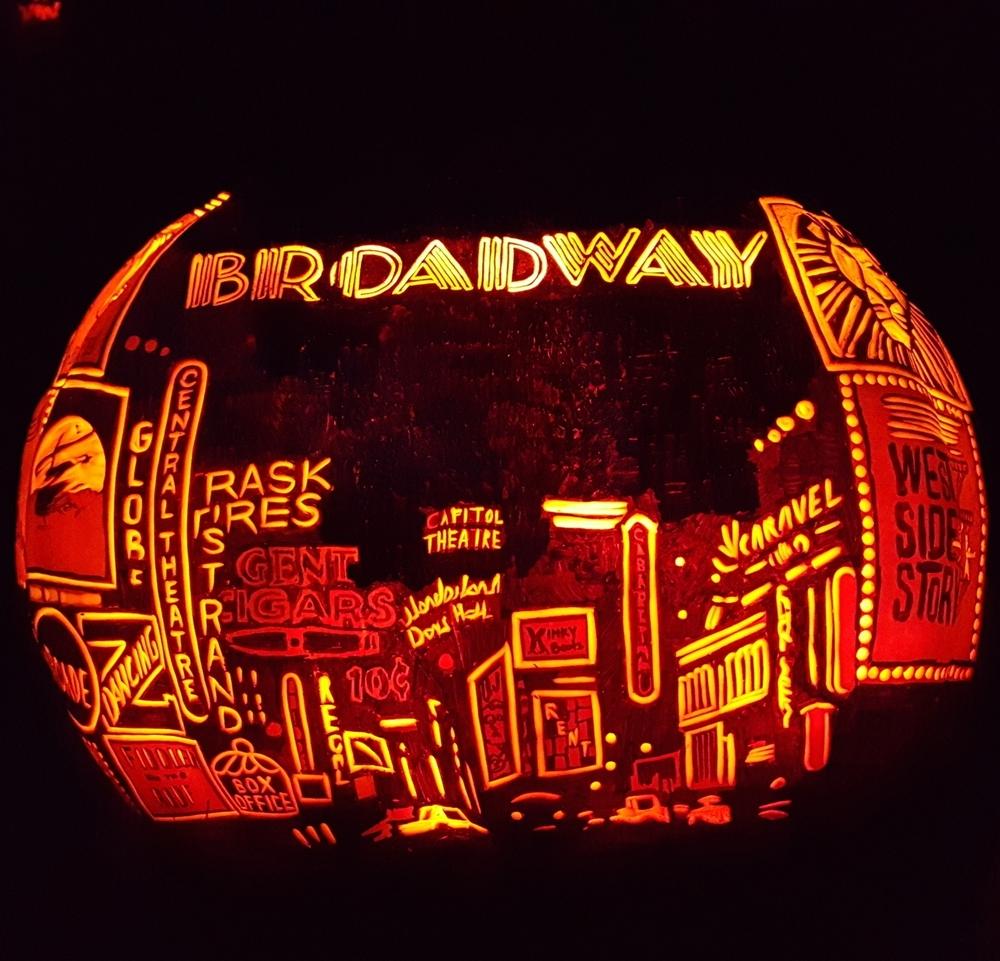 Broadway Title Pumpkin