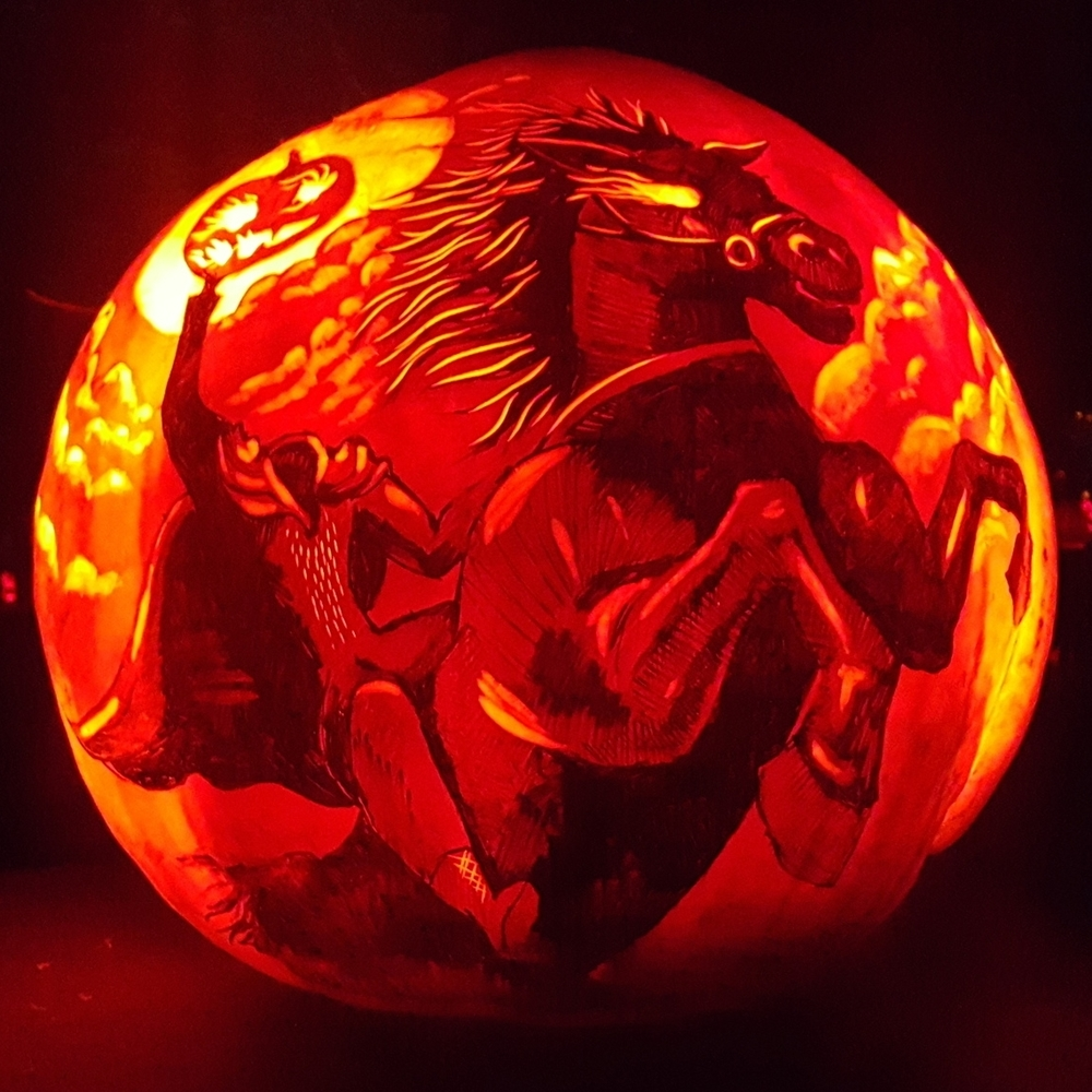 Headless Horseman Pumpkin