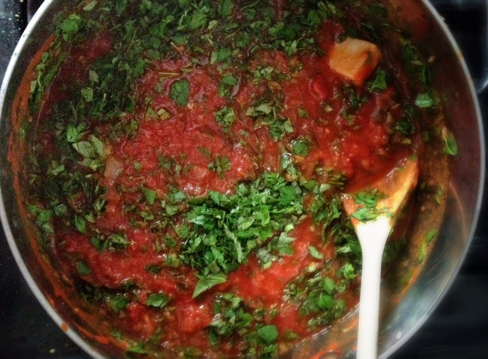 Herbed Tomato Sauce