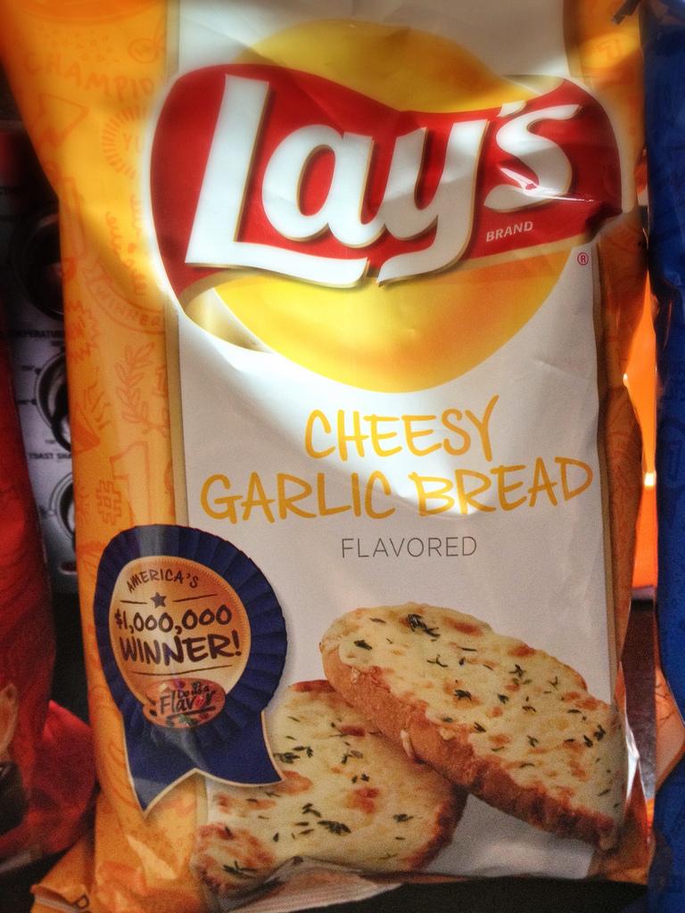 Lay's Cheesy Garlic Bread