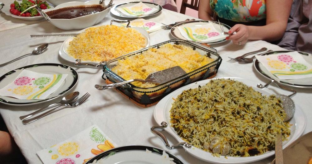 Norouz dinner