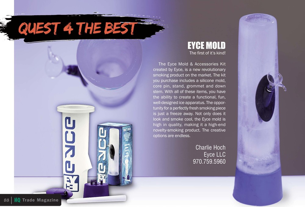 "High light product for the November 2013 issue of HQ Mag's ""Quest 4 the Best"""