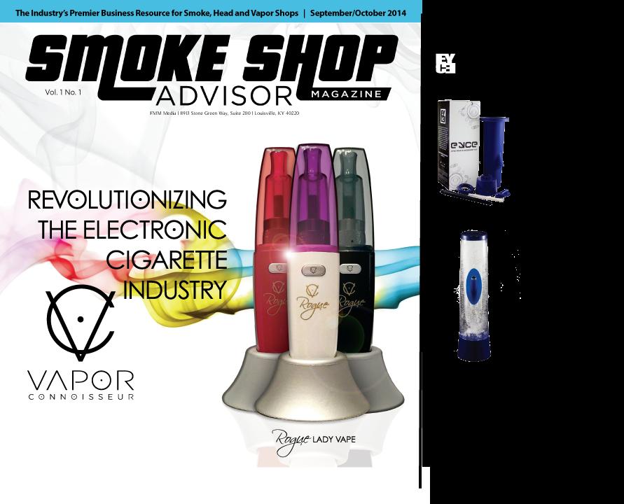 Smoke Shop Advisor Magazine publishes headline - Eyce Molds Releases Greatest Innovation Since the Vaporizer