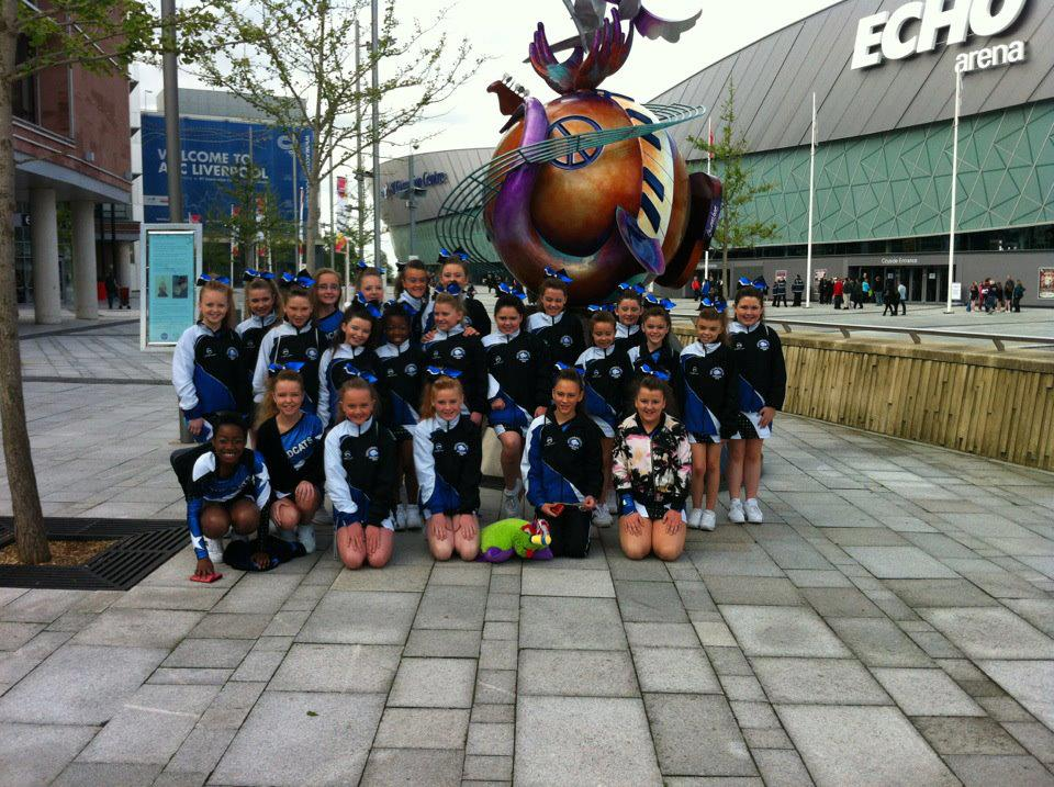 Wildcats Cheerleading Team, Dublin