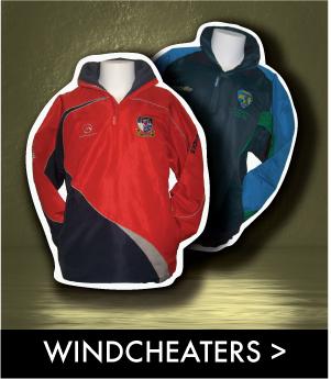 custom team windcheaters