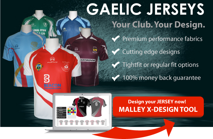 CUSTOMIZED GAELIC JERSEYS