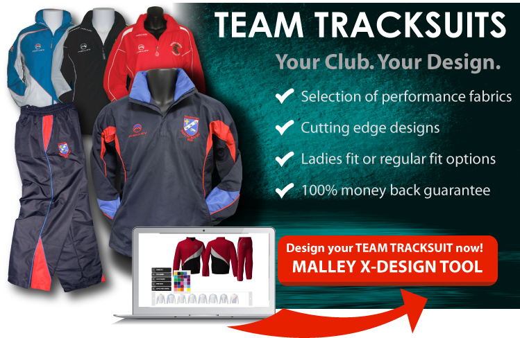 MALLEY SPORT CUSTOM MADE TEAM TRACKSUITS