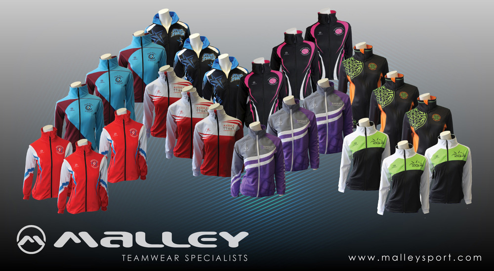 malley customized dance tracksuits