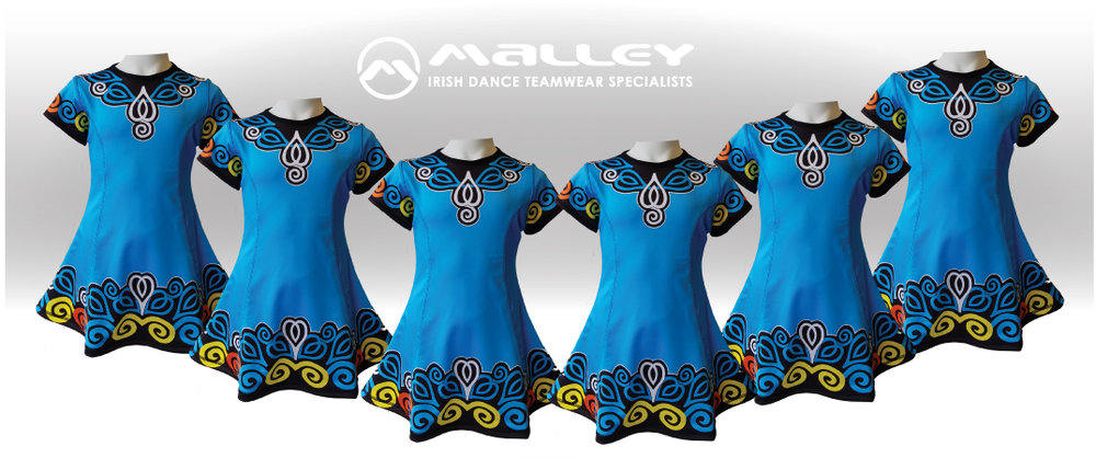 Copy of Copy of Malley First feis dress Irish dance beginner costume