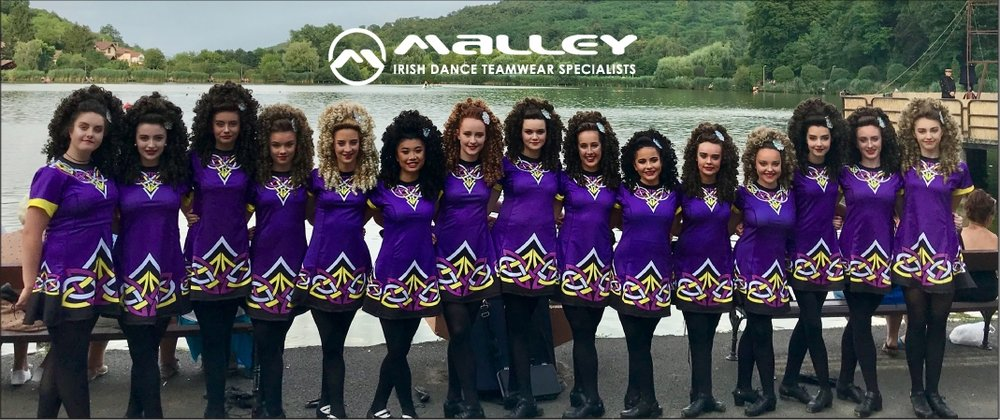 Copy of Troy O'Herlihy Irish Dancers, in their new Malley dresses, representing Ireland in Hungary and Slovakia, 2018