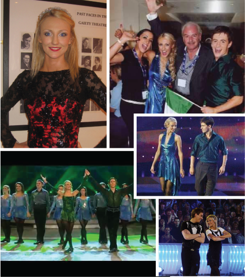 1. Designed by Malley Creative director, former Riverdance Lead Dancer and TCRG, Nicola Byrne - Read more about Nicola