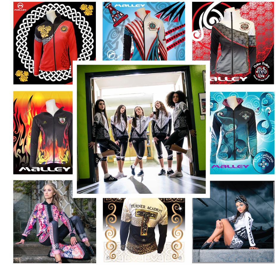 8. Experts in custom made garments - Malley Sport have supplied over 300'000 garments in over 15 countries. Join 100's of Irish Dance Schools #makeitmalley