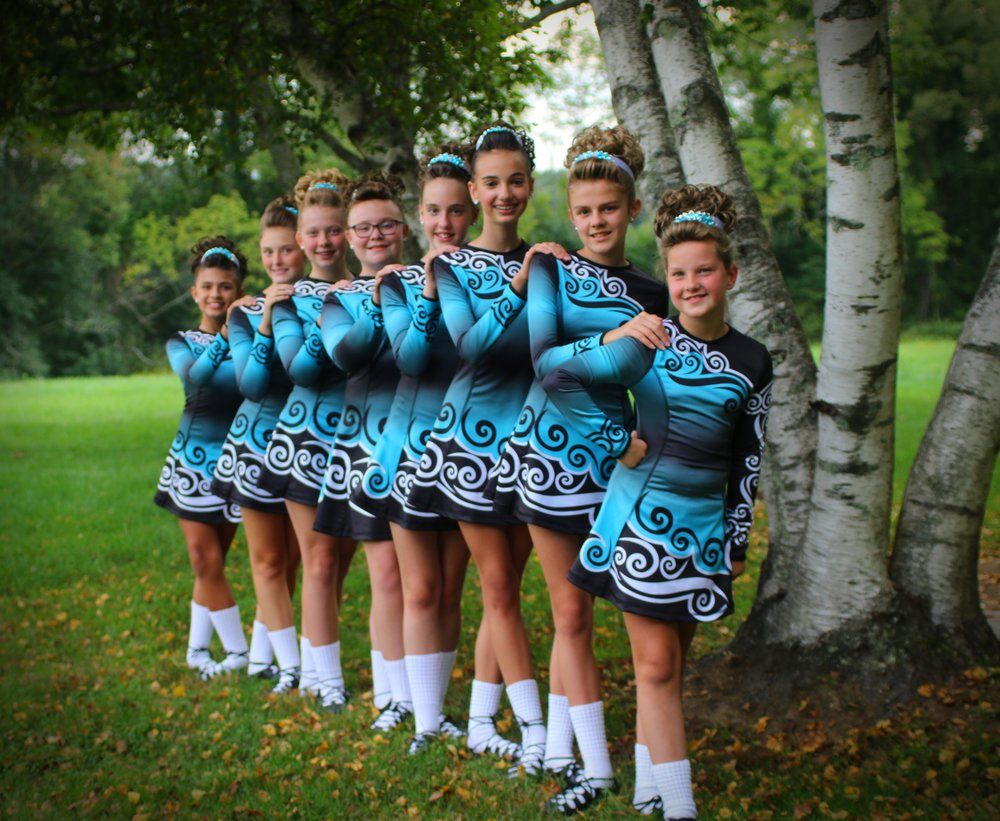 Lee Irish Dance - I wanted to pass along a few photos of our older dancers in their new Malley dresses. We love them and we get so many compliments on them.