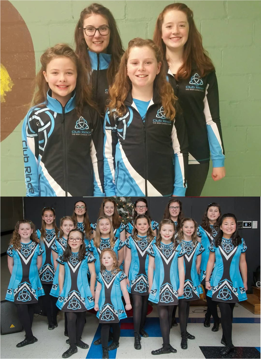 Club Rince, Chester, New Jersey - Absolutely loving our new costumes and tracksuits! Thank you