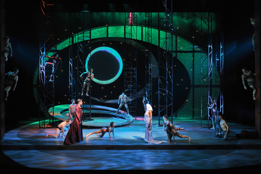 Scenic Design, Anne Mundell Costume Design, Steve Buechler Lighting Design, Milim Sung