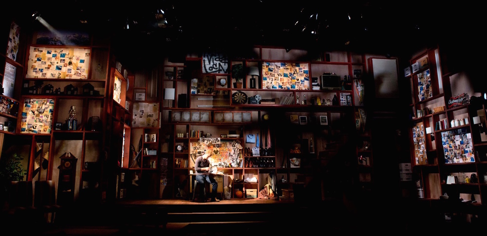 Scenic Design, David Goldstein Costume Design, Tristan Raines Lighting Design, Cory Pattak