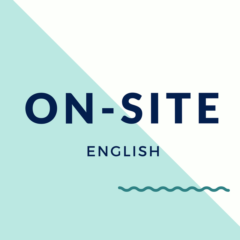 On-site Classes - Our signature service. The fundamentals of English and workplace culture. All levels.