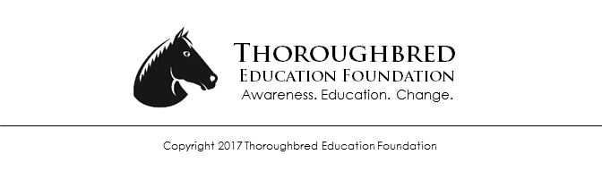 Copyright 2017 Thoroughbred Education Foundation