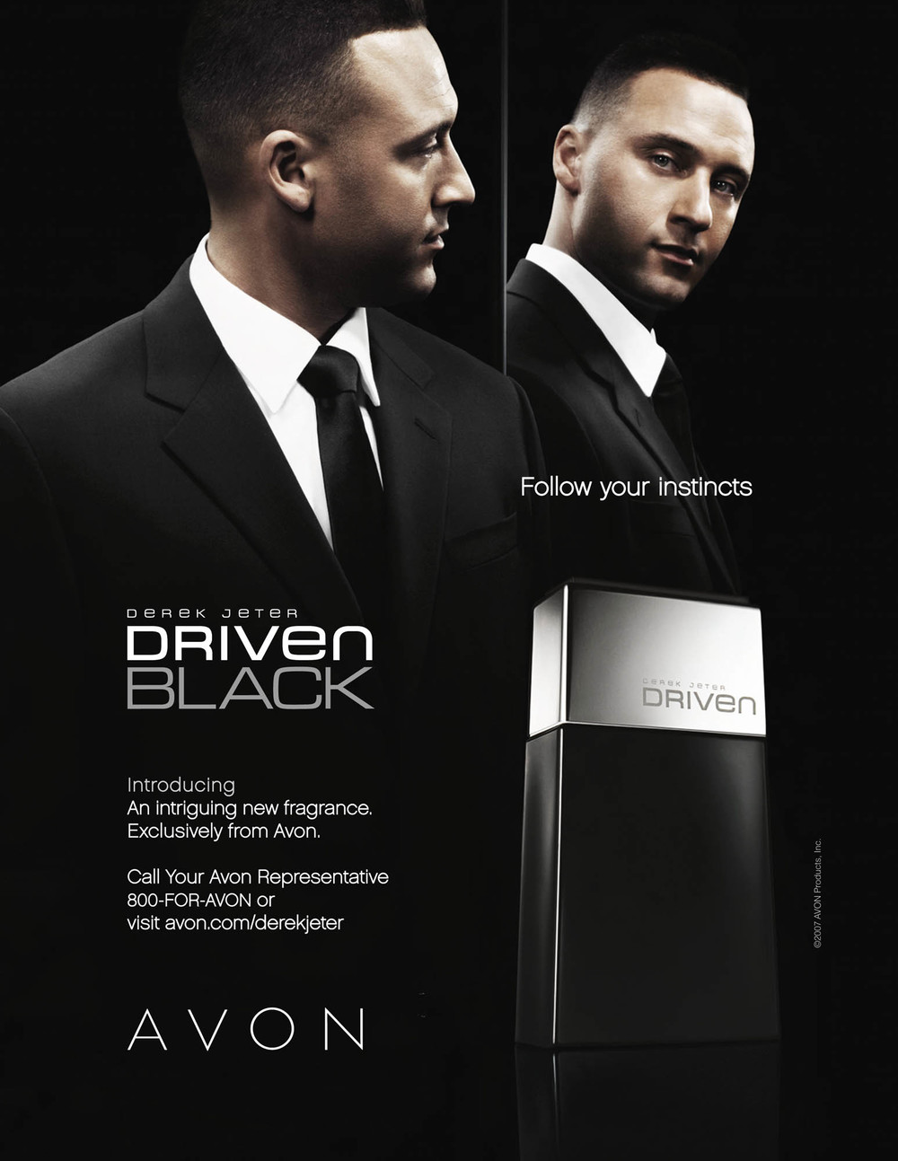 Derek Jeter for Avon Driven Black - New York City