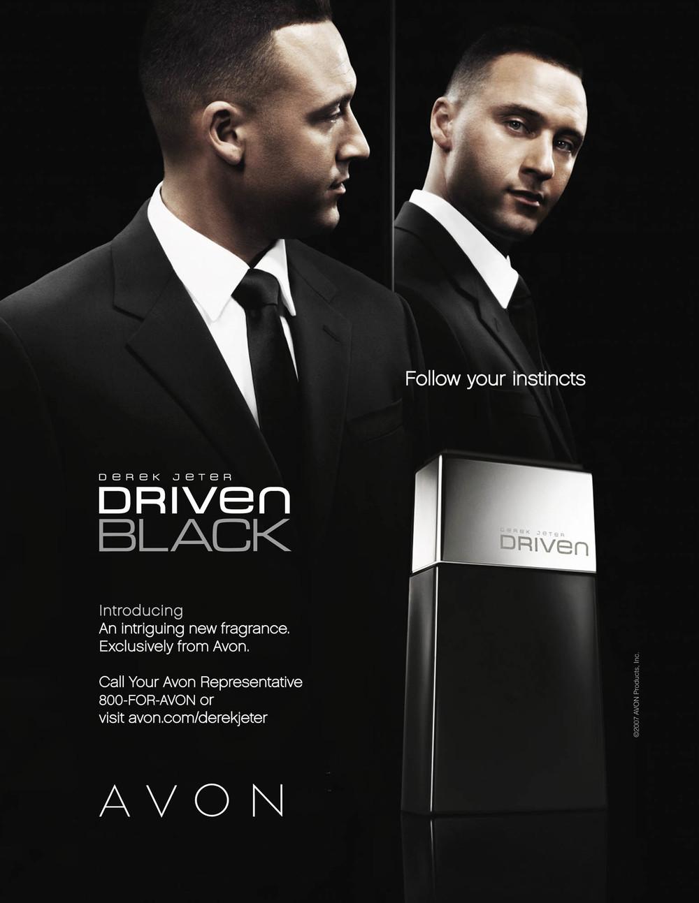 Derek Jeter for Avon Driven Black - New York City