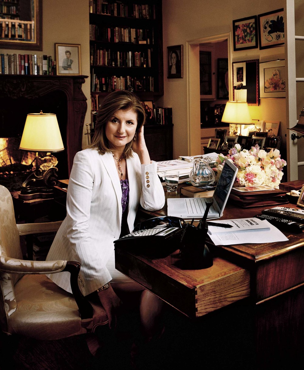 Arianna Huffington - Los Angeles, CA