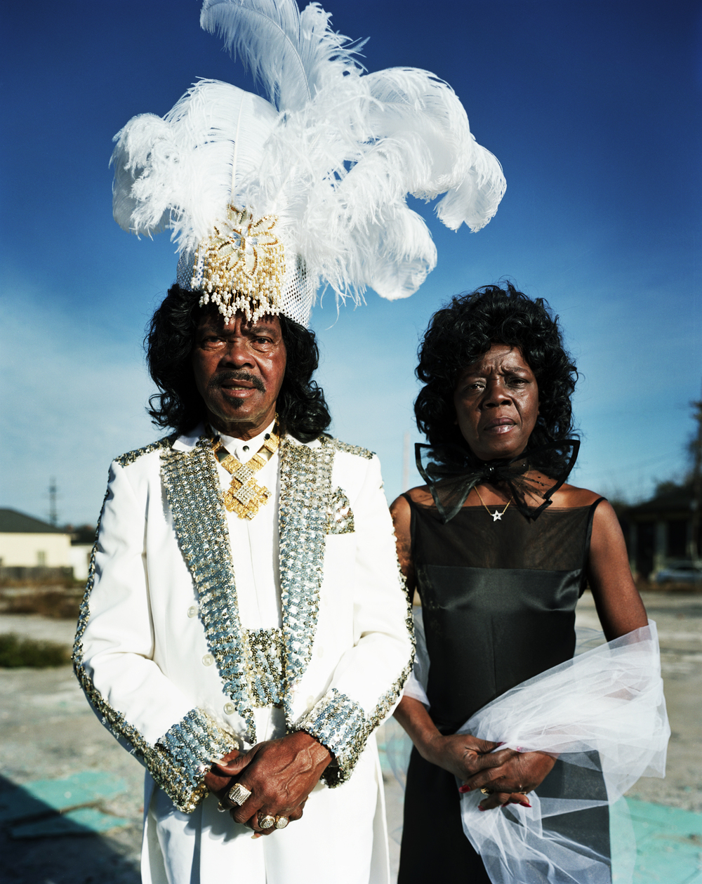Ernie K-Doe with wife Antoinette - New Orleans