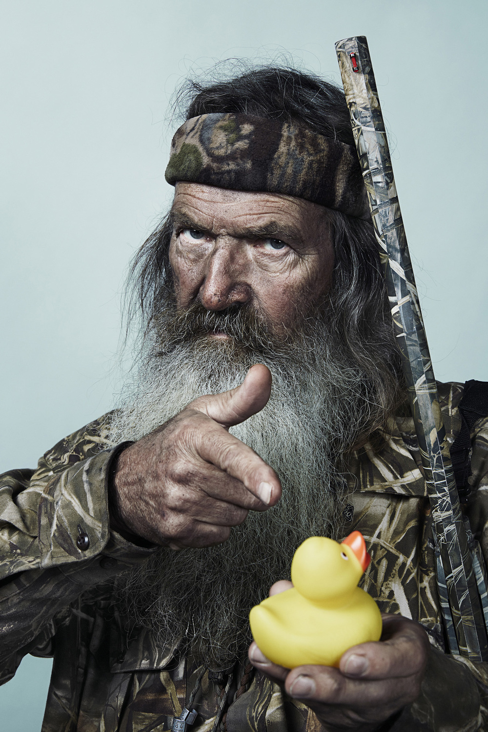 Phil Robertson of Duck Dynasty Klan for GQ - West Monroe, LA