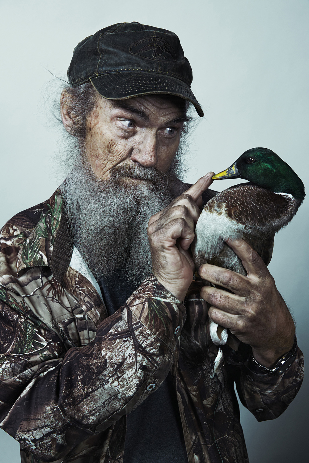 Uncle Si Robertson - of Duck Dynasty Klan for GQ - West Monroe, LA